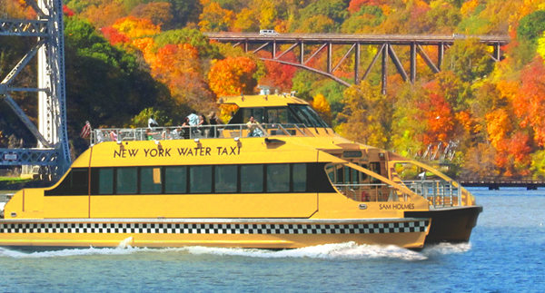 water taxi foliage