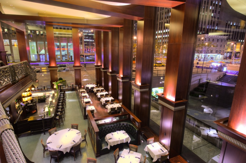 del frisco's business dinners