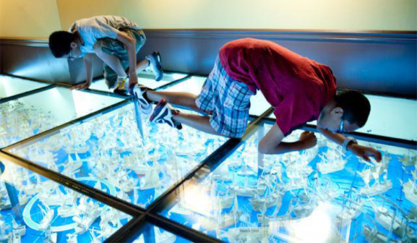 ripley's times square glass floor