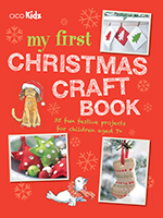 my first christmas craft book cover