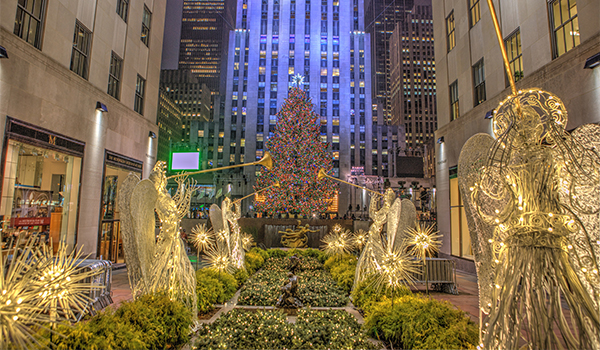 nycs best christmas decorations rockefeller center midtown west - Best Christmas Decorations In Nyc