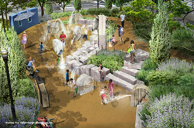 Exciting Redesign Revealed for Chelsea Waterside Playground