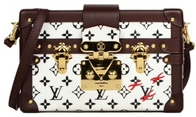 louis vuitton petite malle trunk crossbody