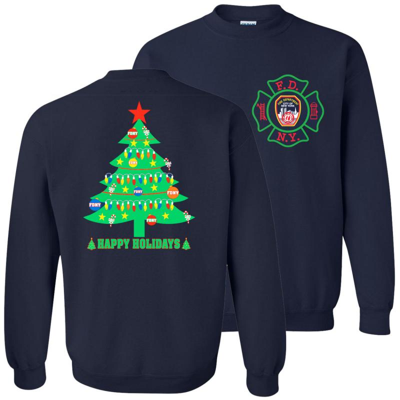christmas sweatshirt fdny