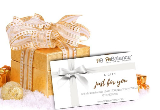 rebalance gift card holiday stocking stuffer