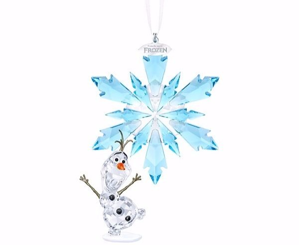 frozen ornament martinique snowflake