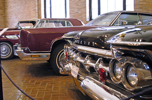 classic cars at kykuit
