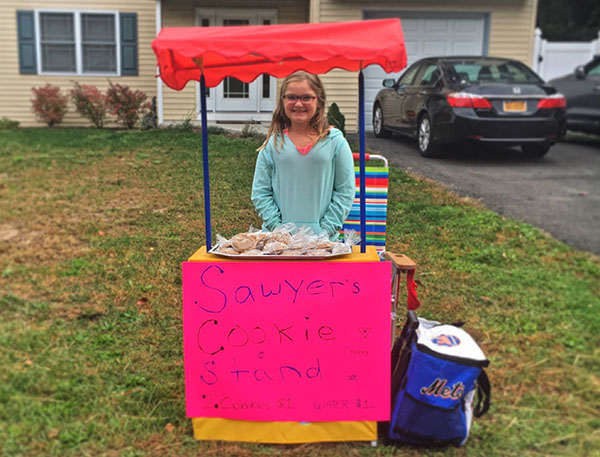 sawyer's cookie stand