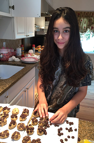 debbies dream foundation cookie baking