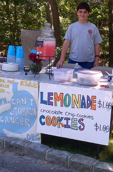 debbies dream foundation lemonade stand
