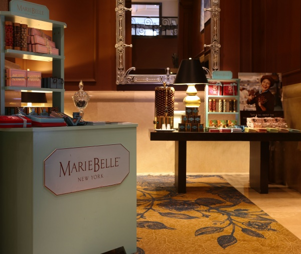 mariebelle pop up benjamin hotel