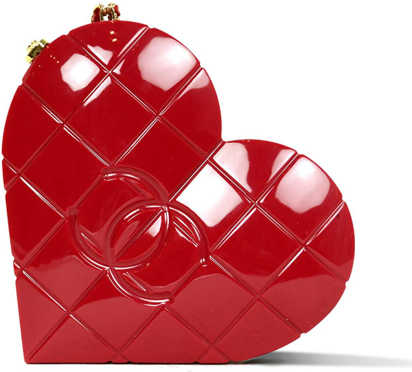 chanel heart valentines day