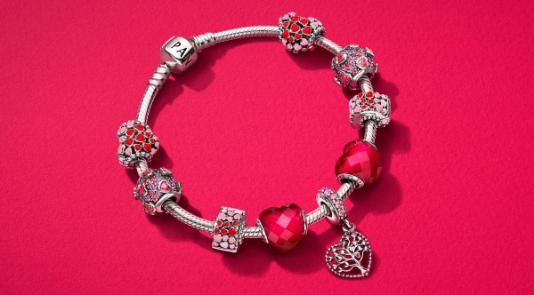 Pandora 2018 valentine's day collection
