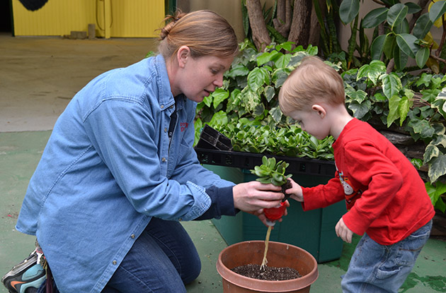 children's gardening program brookhaven