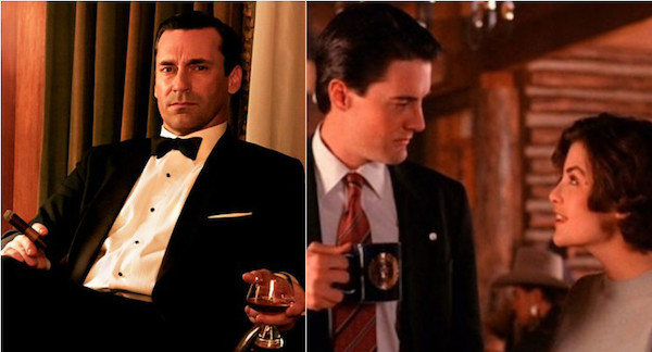 Mad Men Twin Peaks The Lately