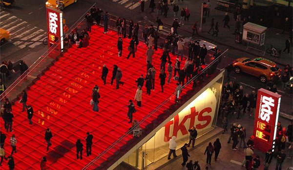 Tkts for Things to in times square