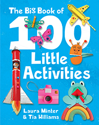 big book of 100 little activities cover
