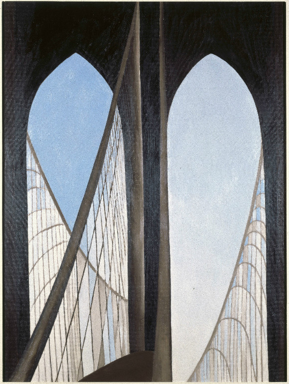brooklyn bridge georgia o'keeffe