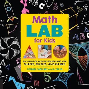 math lab for kids cover