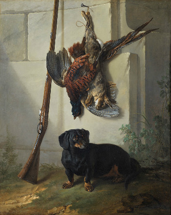 dead game and rifle jean-baptiste oudry