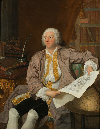 Jacques-Andre?-Joseph Aved (French, 1702–1766), Portrait of Count Carl Gustaf Tessin