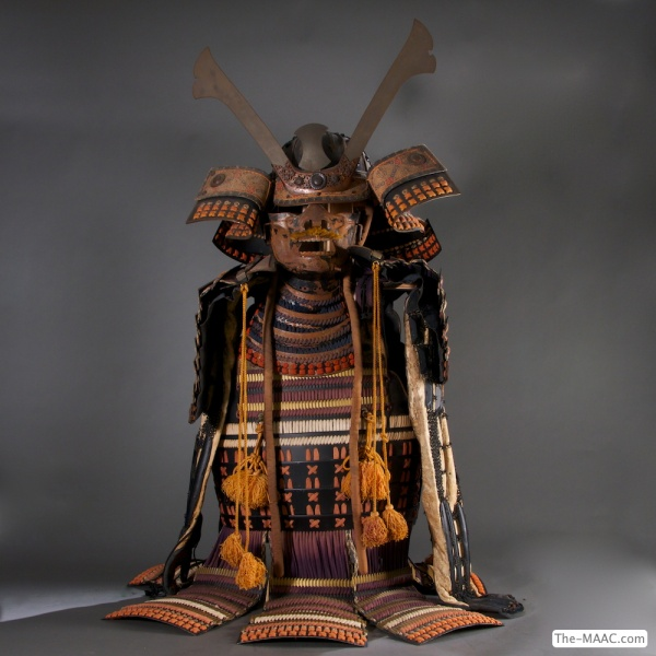 Samurai Armor. Metal, Japan, 20th century