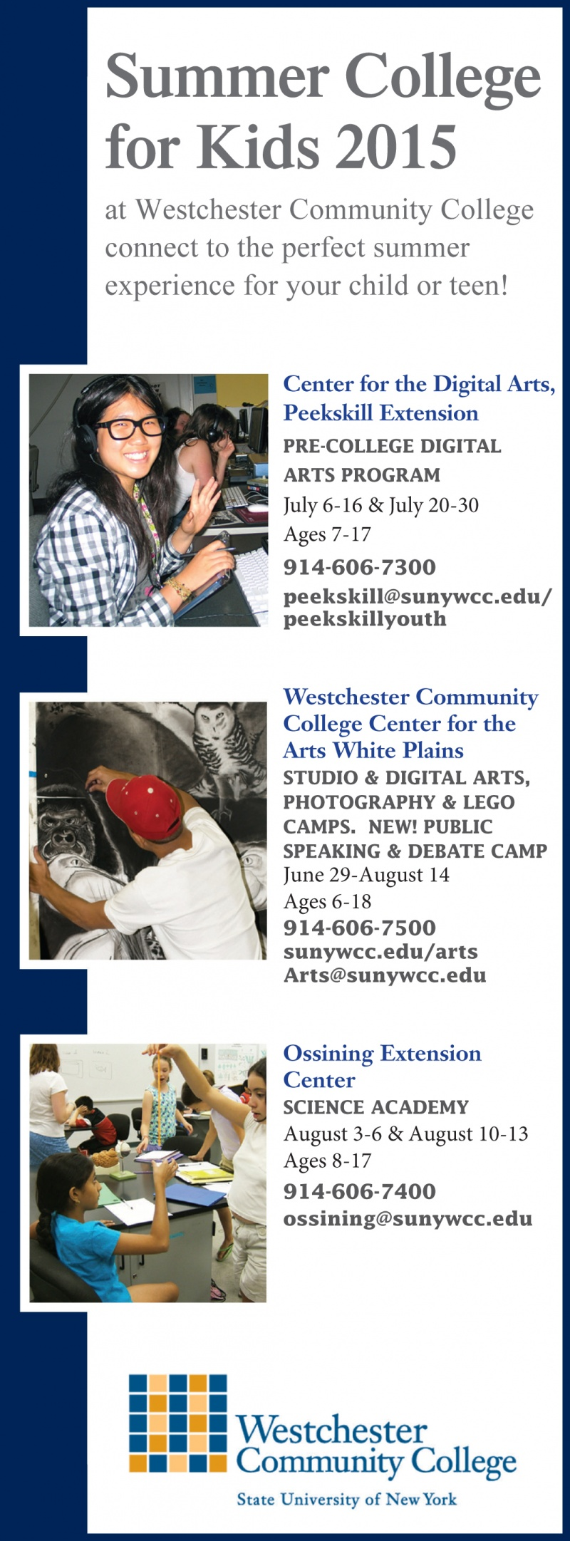 Summer Kids College at WCC