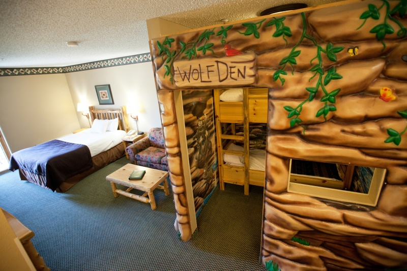 Wold Den Suite at Great Wolf Lodge