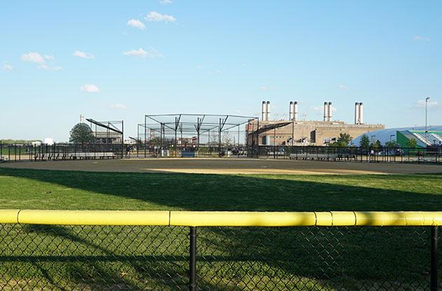 randall's island baseball field