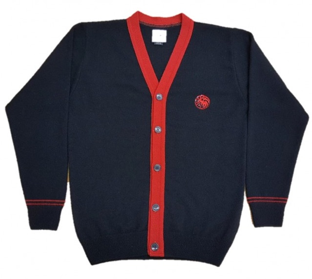 Game of Thrones House of Targaryen Cardigan