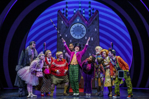 christian borle willy wonka charlie chocolate ensemble