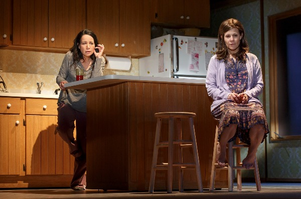 Janeane Garofalo and Lili Taylor in Marvin's Room. Photo by Joan Marcus.