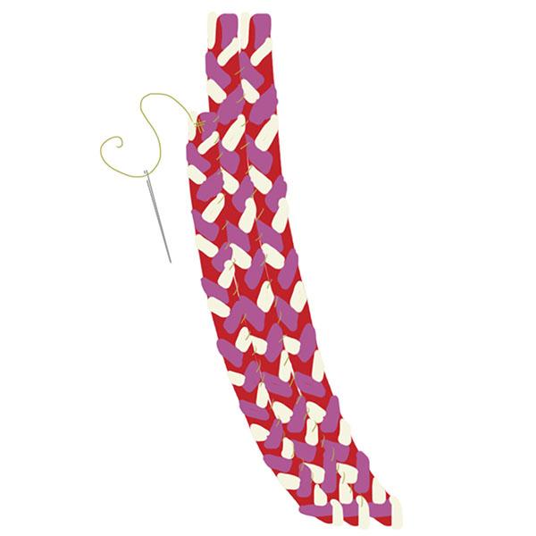 braided rug step 9