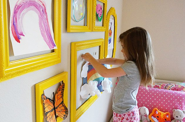 Tips for Storing and Displaying Your Kids' Art