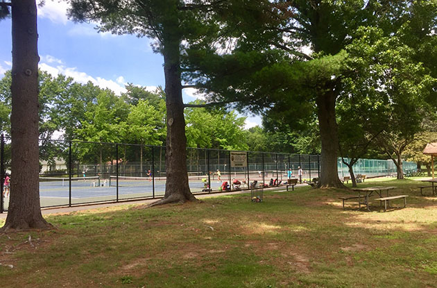 van saun county park tennis courts