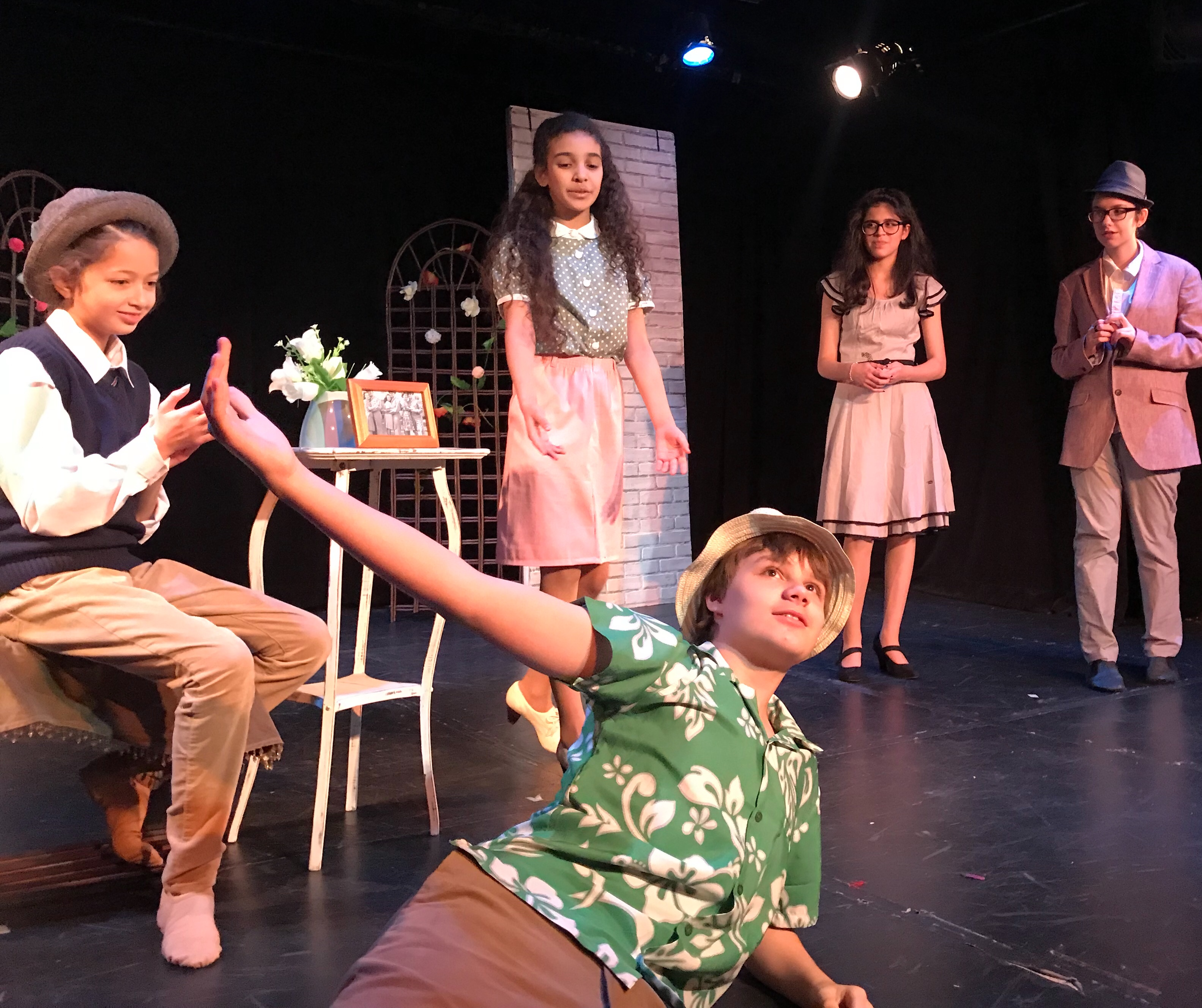 Students perform Twelfth Night in our Fall Acting Intensive -