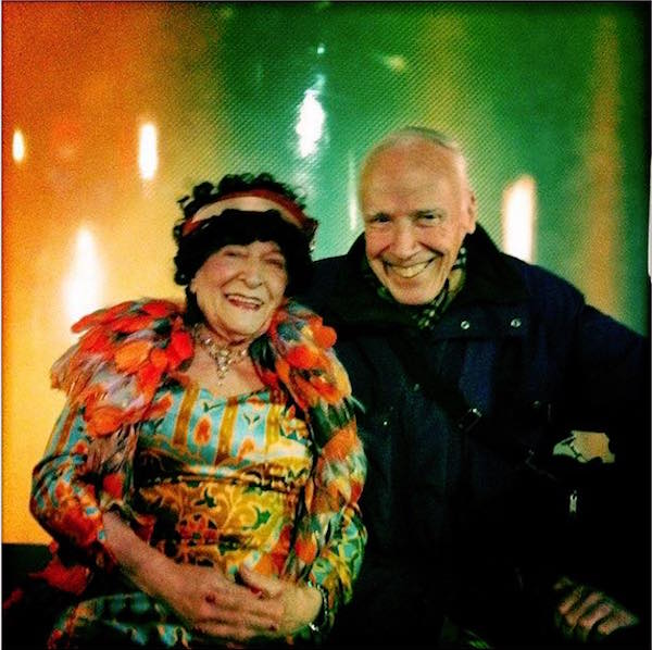 Editta Sherman and Bill Cunningham