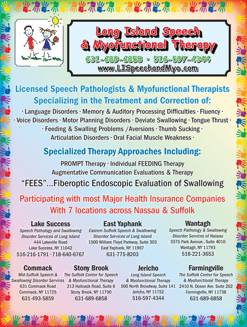 Long Island Center for Speech and Myofunctional Therapy