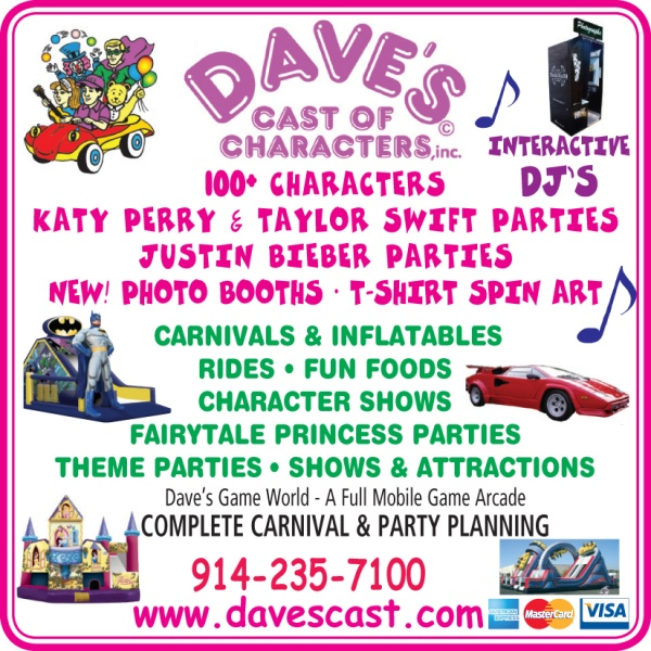 Dave's Cast of Characters