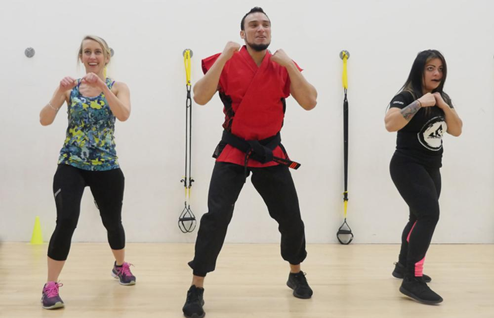 Small Group Fitness Classes: