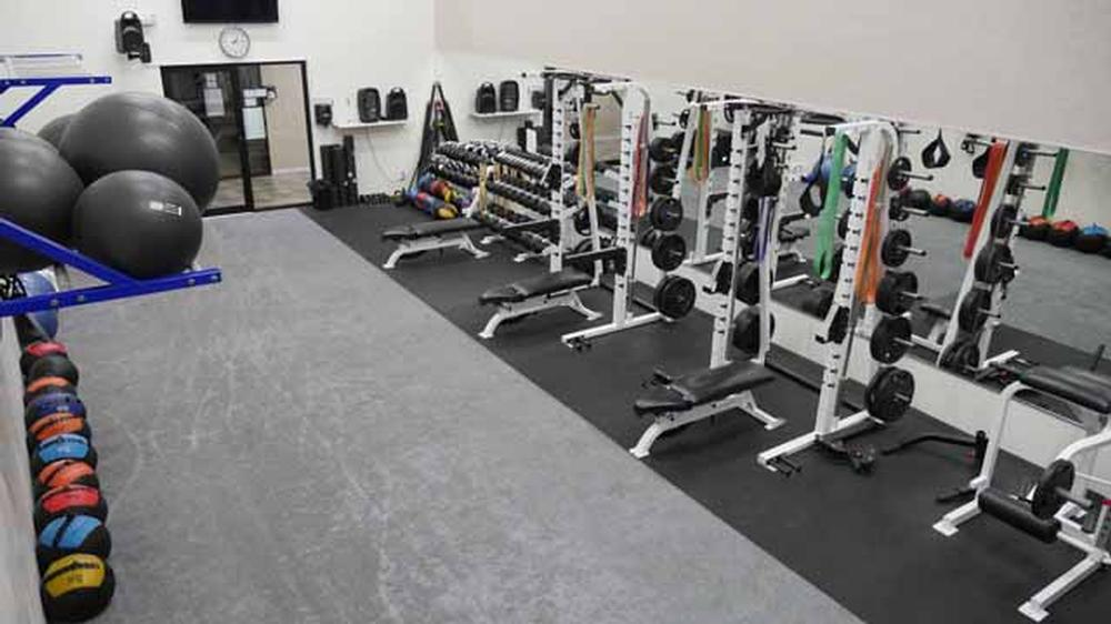Workout Rooms: