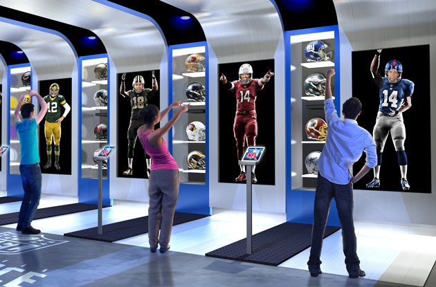 NFL Experience Times Square Suit Up