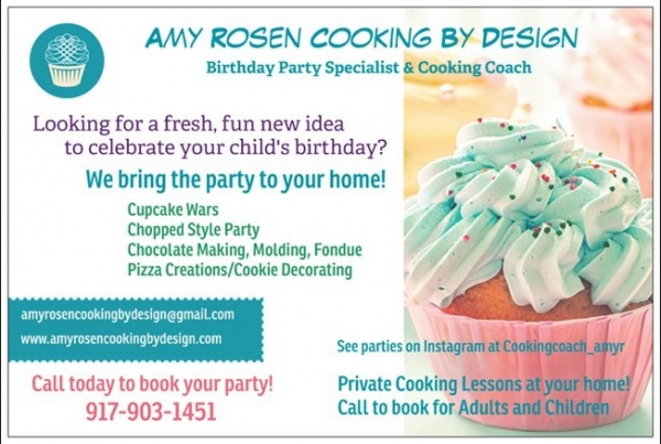 Amy Rosen Cooking by Design