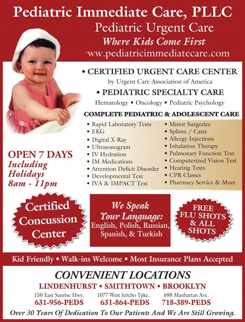 Pediatric Immediate Care
