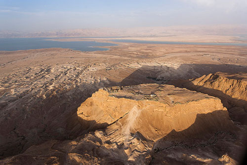 The view from Masada