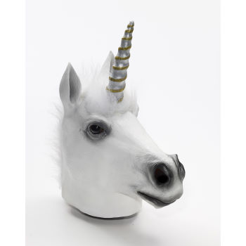Unicorn latex mask Village Party Store