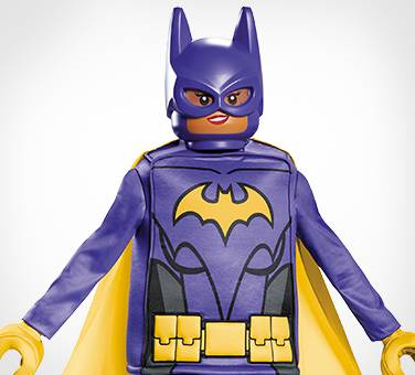 The Lego Batman Movie batgirl costume
