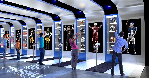 suit up nfl experience uniform