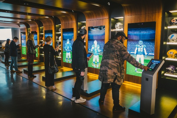 suit up nfl experience uniform times square