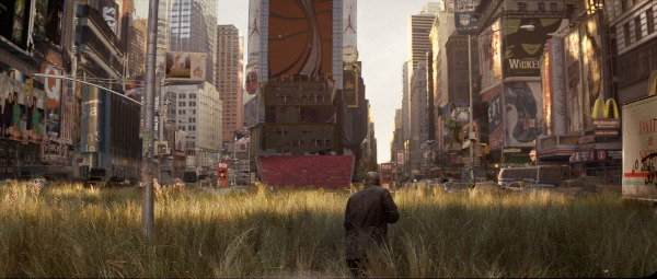 i am legend times square